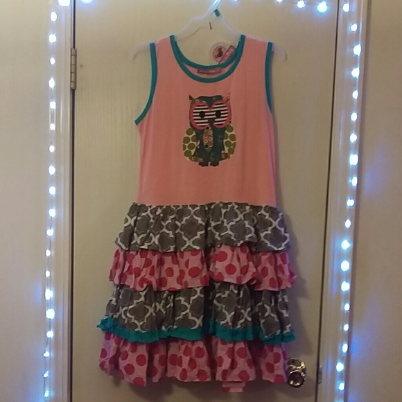 Jelly The Pug Other - Girls jelly the pug size 14 dress nwt
